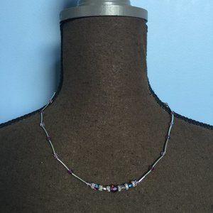 Lia Sophia Boho Beaded Necklace